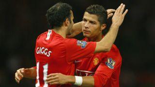 Ryan Giggs Cristiano Ronaldo Man Utd