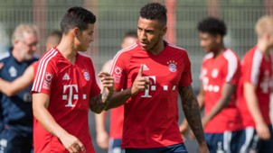 James Rodriguez Corentin Tolisso Bayern München Bundesliga 0717