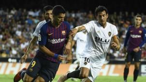 Luis Suarez Dani Parejo Barcelona Valencia 07102018