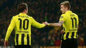 Marco Reus Mario Götze Borussia Dortmund BVB 2013