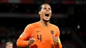 Virgil van Dijk, Netherlands - Germany, Nations League 10132018