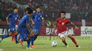 U16 Indonesia U16 Thái Lan Chung kết giải U16 Đông Nam Á 2018