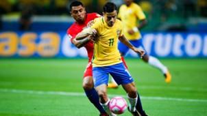 101017 Gonzalo Jara Philippe Coutinho Chile Brasil