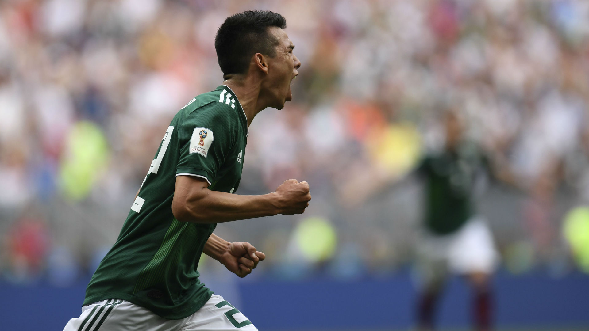 Hirving Lozano Mexico Germany World Cup 2018
