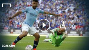 GFX Sergio Agüero Manchester City Chelsea Community Shield