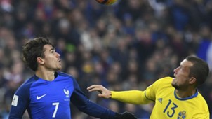 jakob johansson antoine griezmann - sweden france - euro 2016