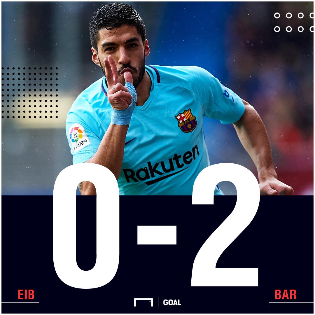 Barca score Eibar
