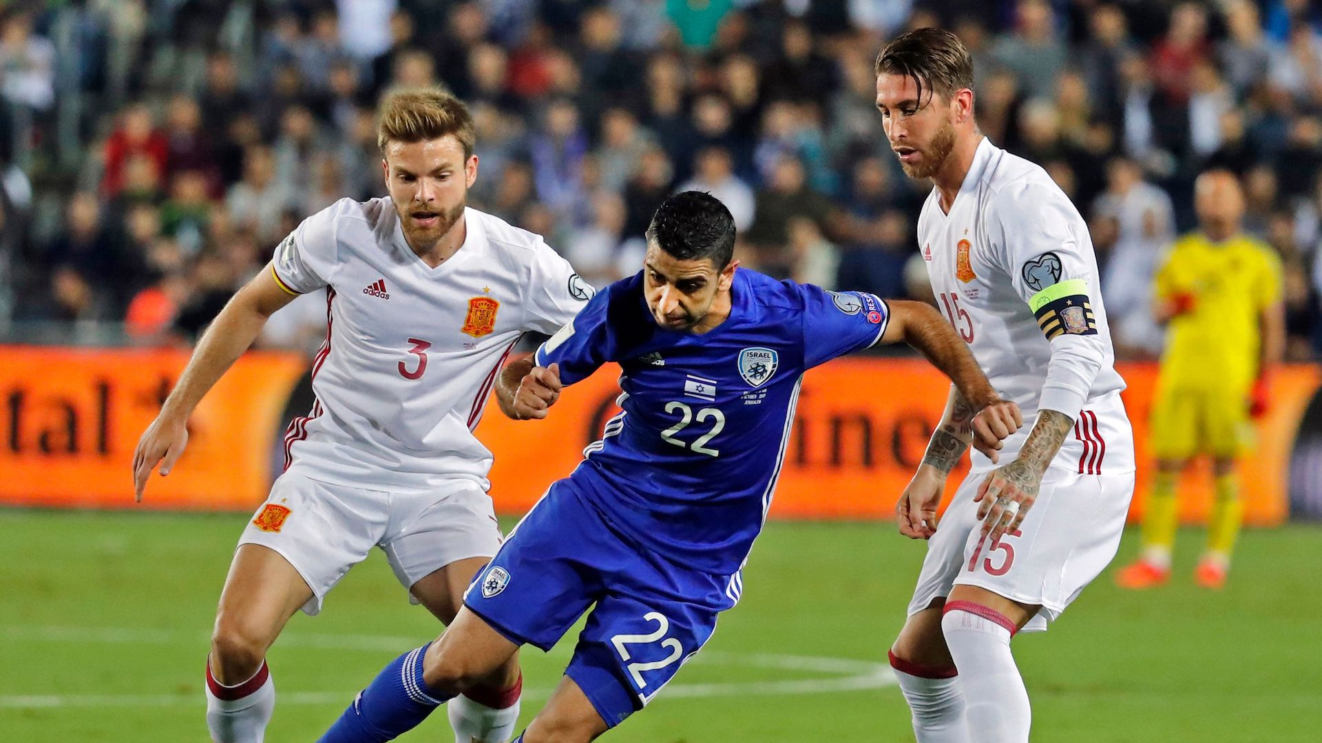 Spain Israel European WC qualifiers
