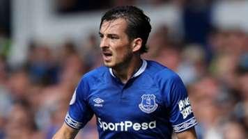 Leighton Baines Everton 2018-19
