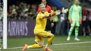 Kasper Schmeichel Denmark Croatia World Cup 01072018