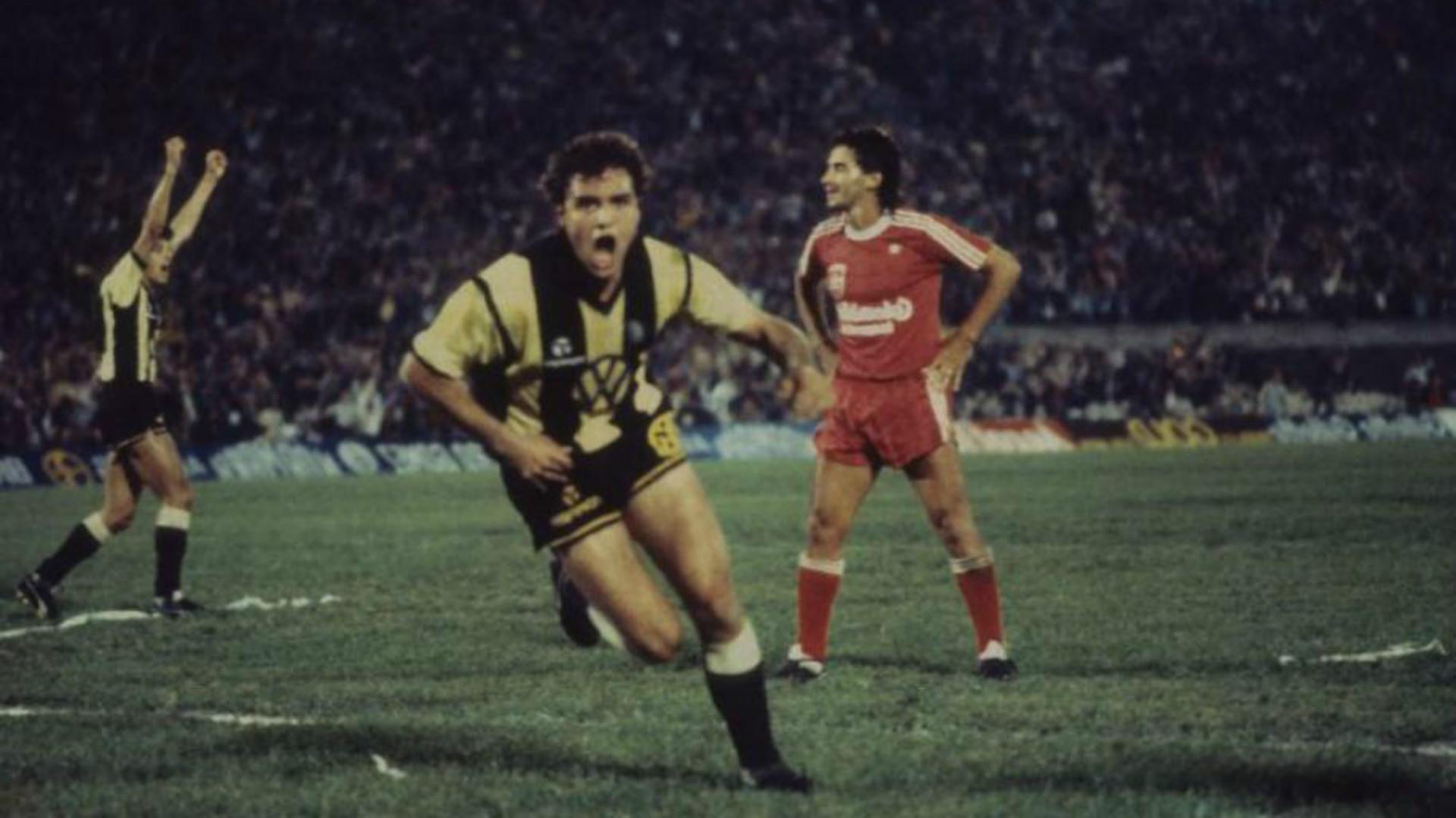 Peñarol America de Cali Final Copa Libertadores 1987