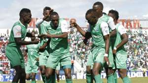 Gor Mahia celabrate goal against AFC Leopards