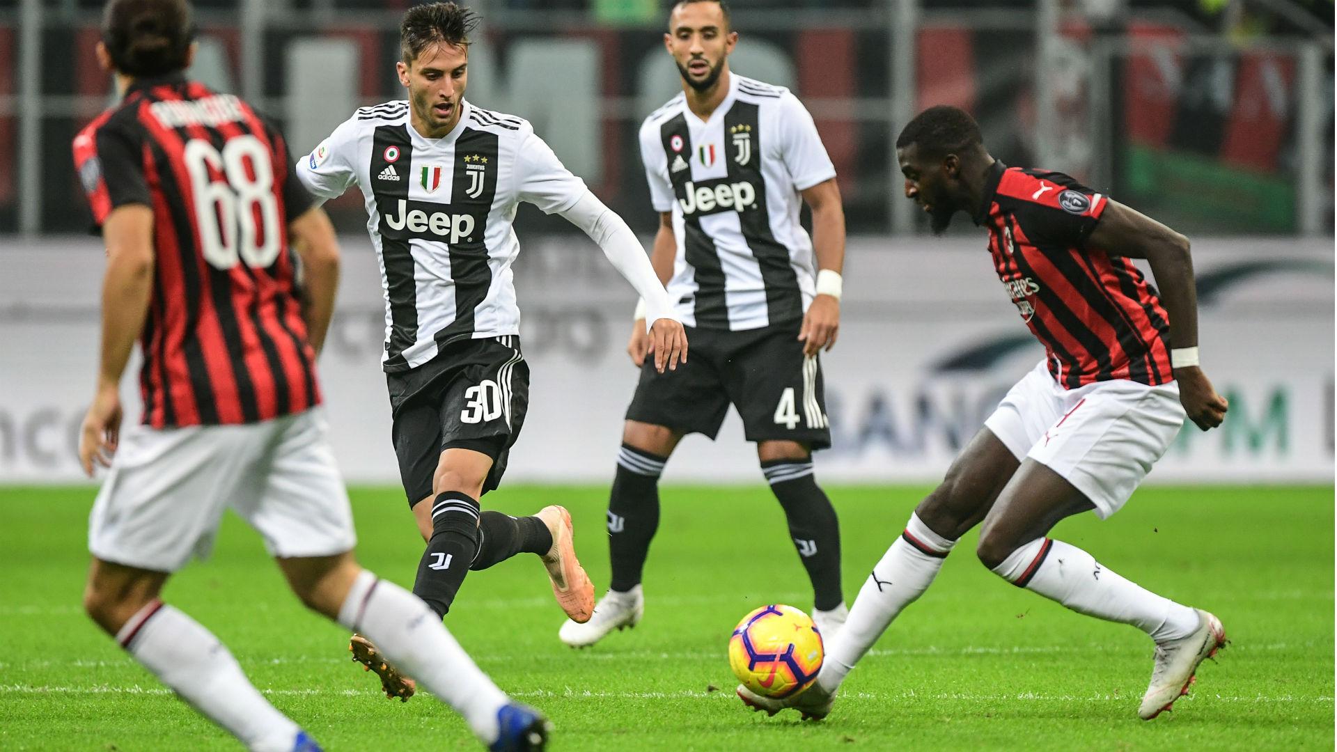 Bakayoko Bentancur Milan Juventus Serie A