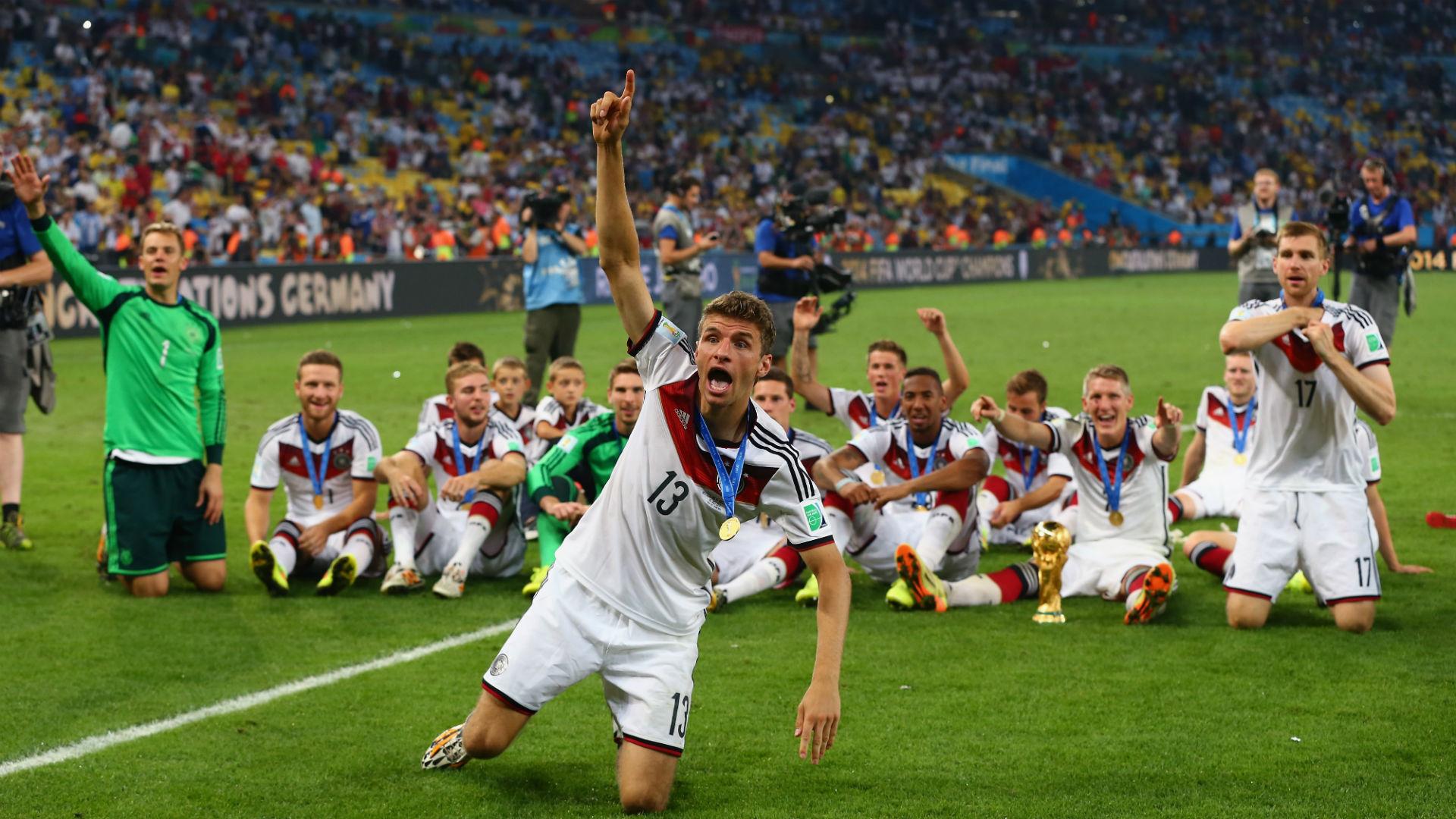 Thomas Müller 2014 WC WM Germany Argentina