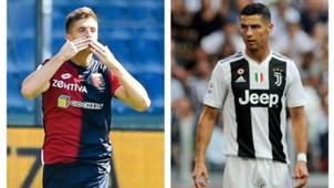 Piatek Cristiano Ronaldo