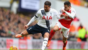 Kyle Walker, Alexis Sanchez, Tottenham-Arsenal, 24042017