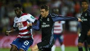 Mateo Kovacic Martin Hongla Real Madrid Granada LaLiga 06052017
