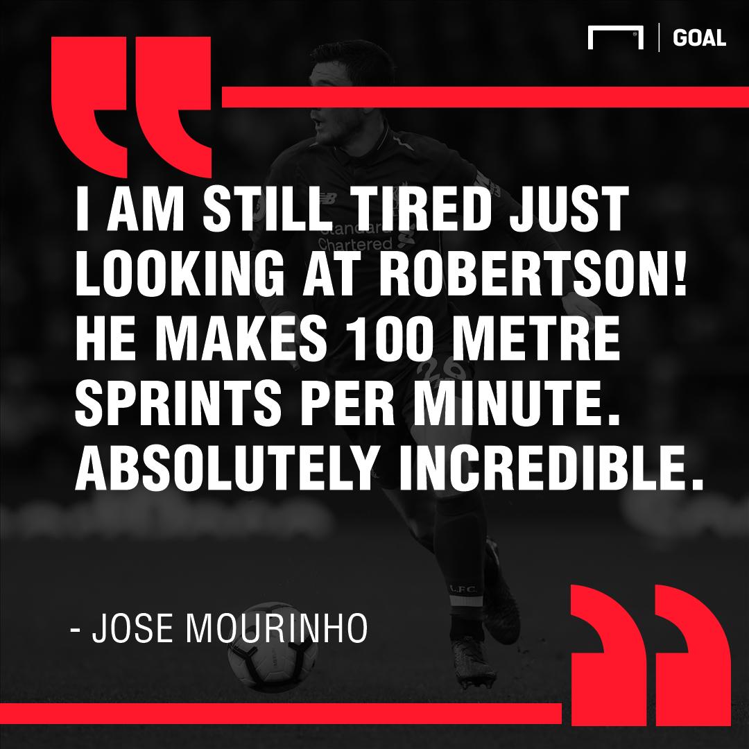 Jose Mourinho on Andy Robertson 2018