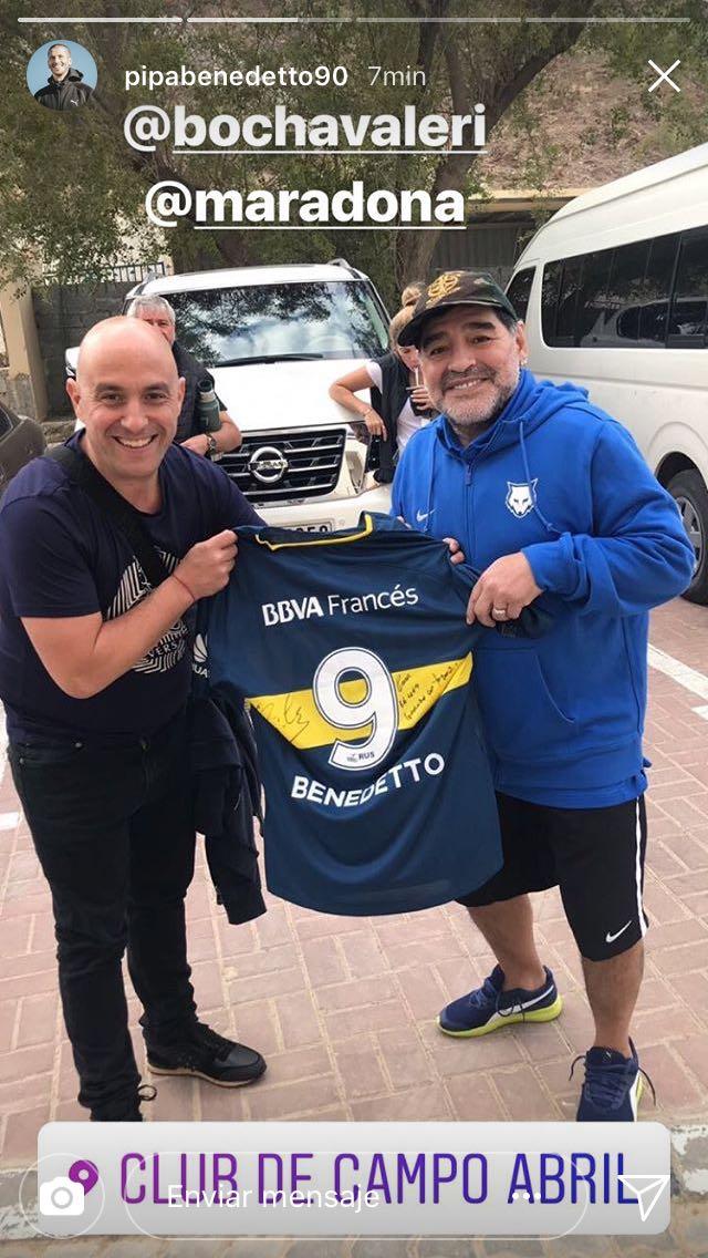 Maradona Benedetto Navidad Regalo
