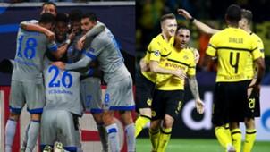 GFX Schalke Dortmund Champions League 03102018