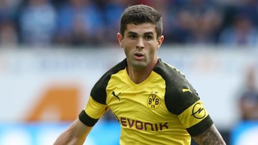 Christian Pulisic Borussia Dortmund 09222018
