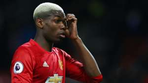 Paul Pogba Manchester United February 2017