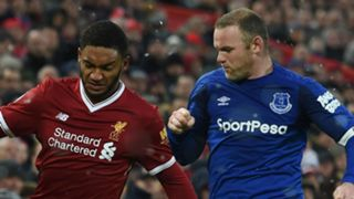Joe Gomez Wayne Rooney Liverpool Everton