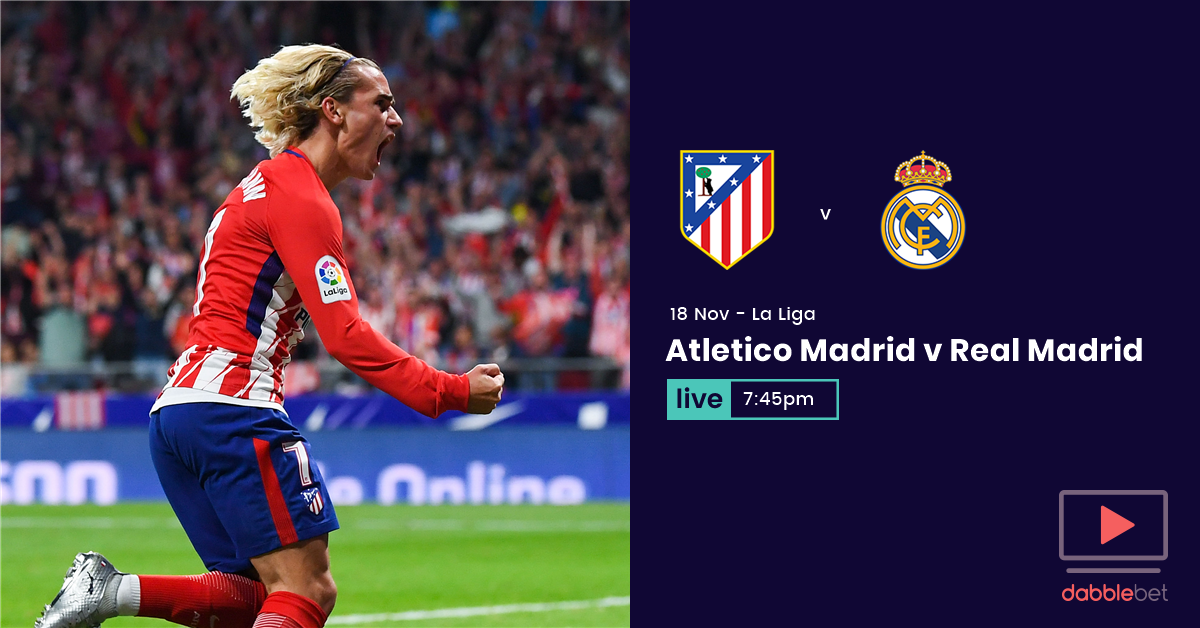 Atletico Real Madrid graphic