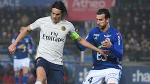 Edinson Cavani Pablo Martinez Strasbourg PSG Ligue 1 05122018