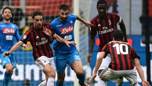Albiol Bonaventura Milan Napoli Serie A