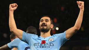 Ilkay Gundogan Man City 2018