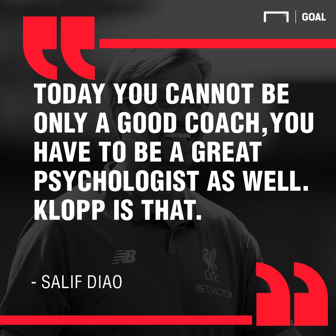 Salif Diao on Jurgen Klopp