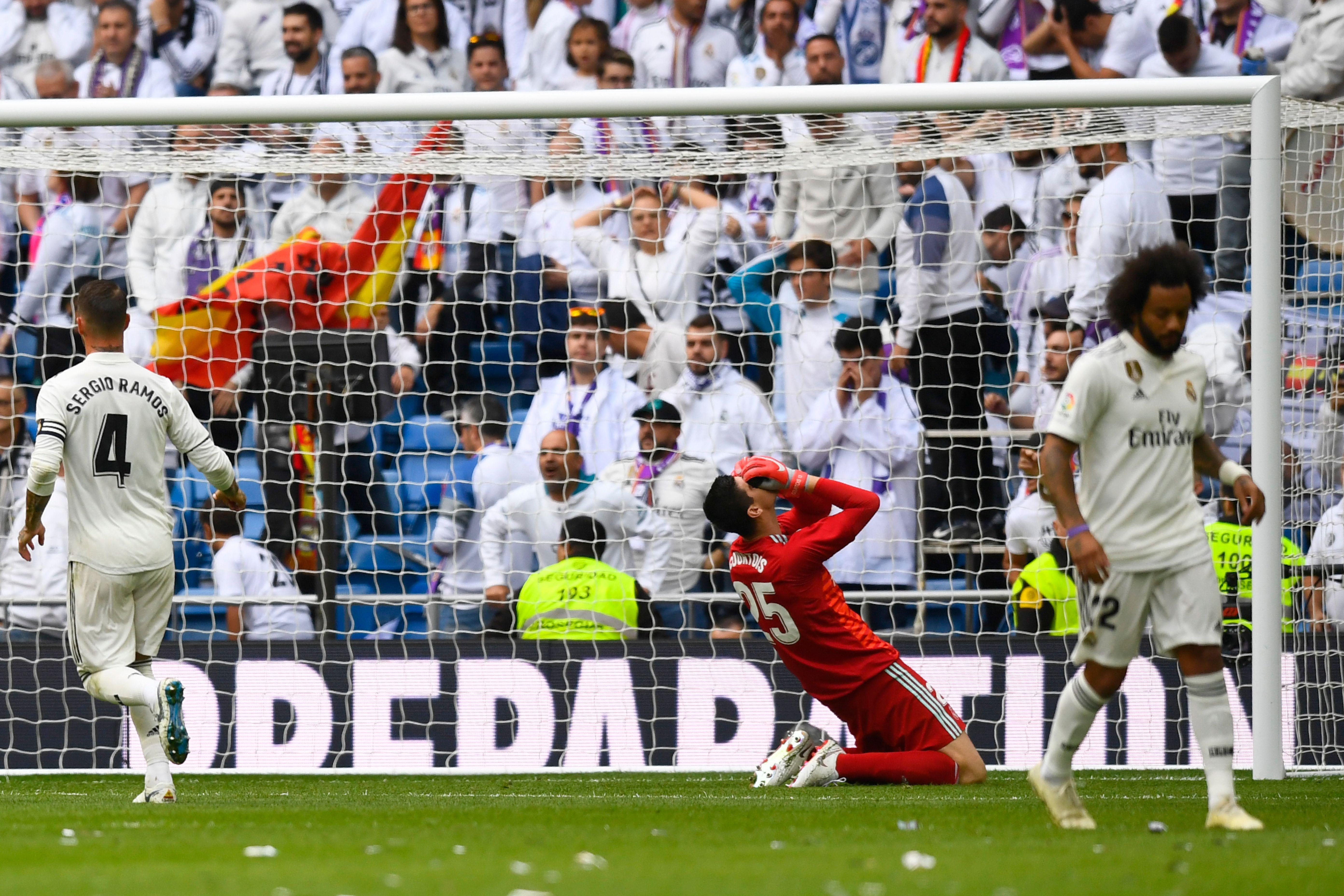 Courtois Real Madrid Levante LaLiga