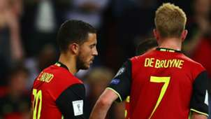 Eden Hazard Kevin De Bruyne Belgium
