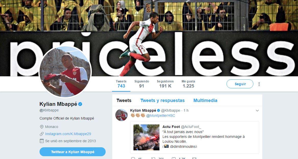 Mbappe Twitter header 2