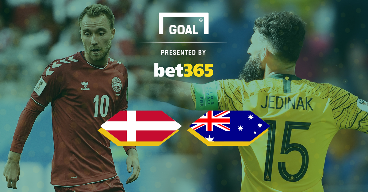 Christian Eriksen stunner cancelled out as Denmark held by Australia