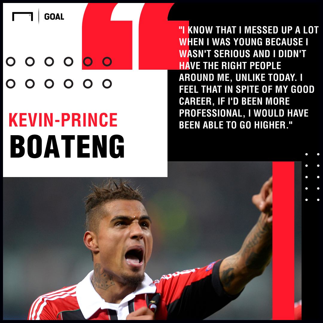 Kevin-Prince Boateng career PS