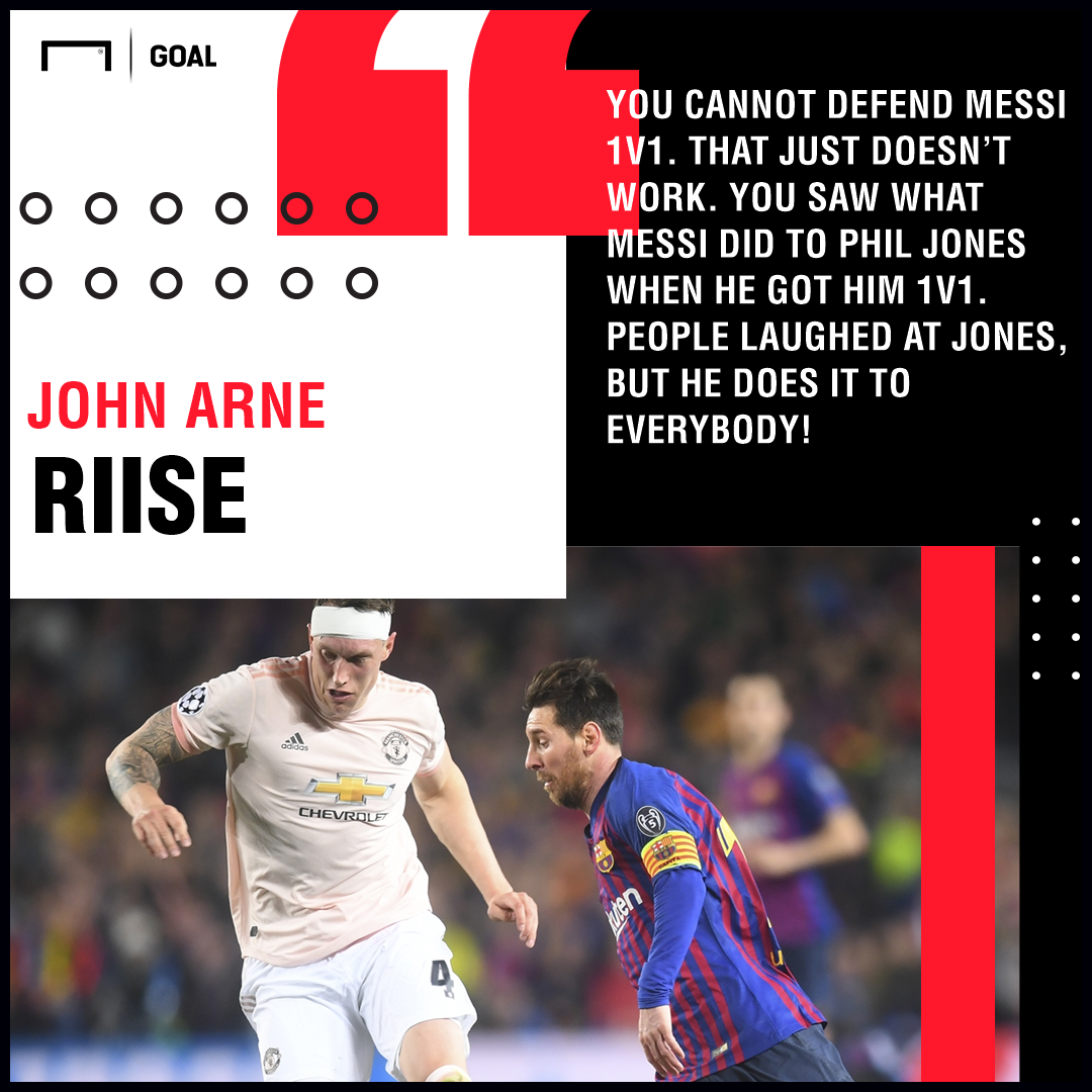 John Arne Riise Lionel Messi Liverpool Barcelona PS