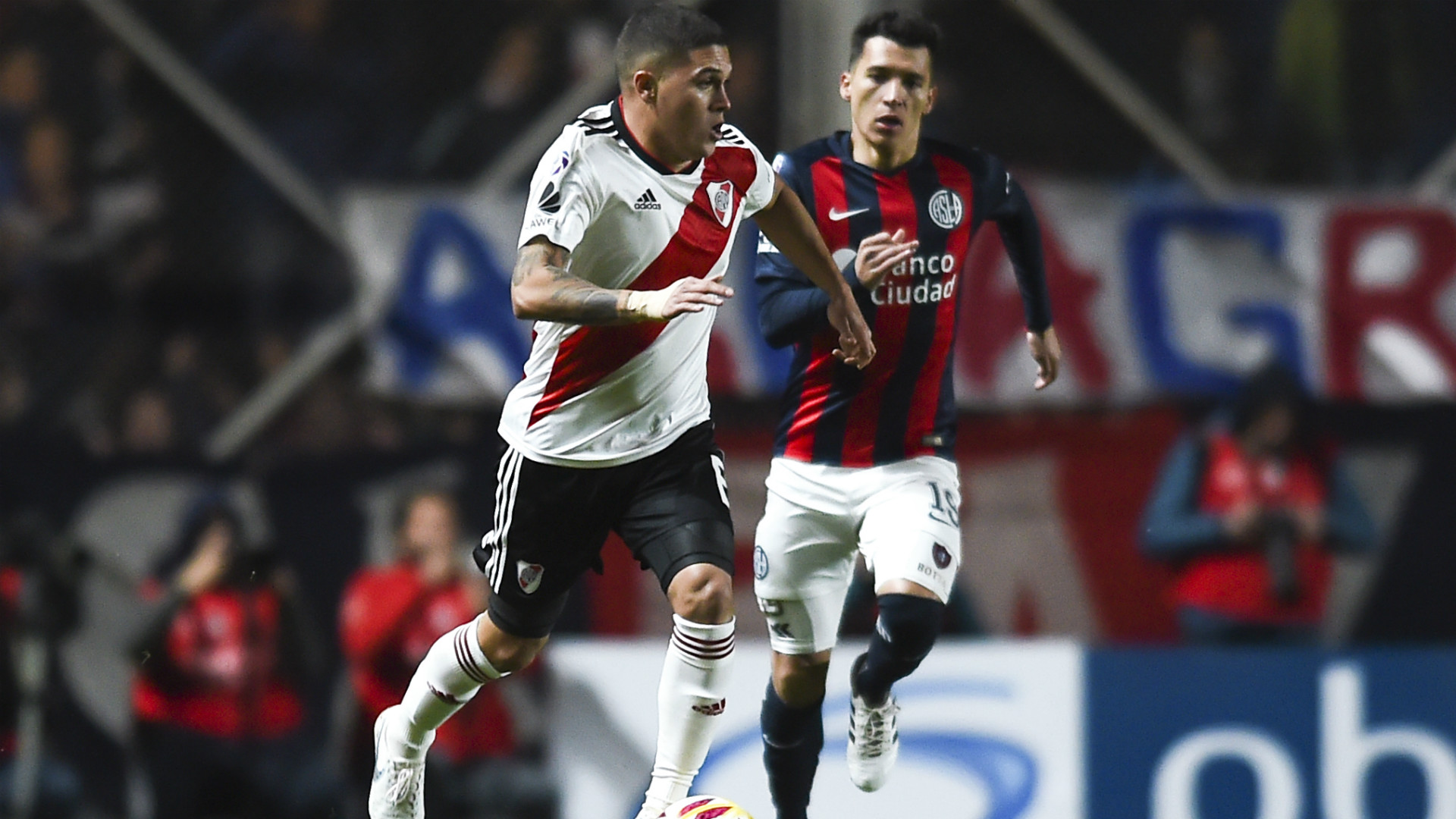 Juan Fernando Quintero San Lorenzo River Plate Superliga 01092018
