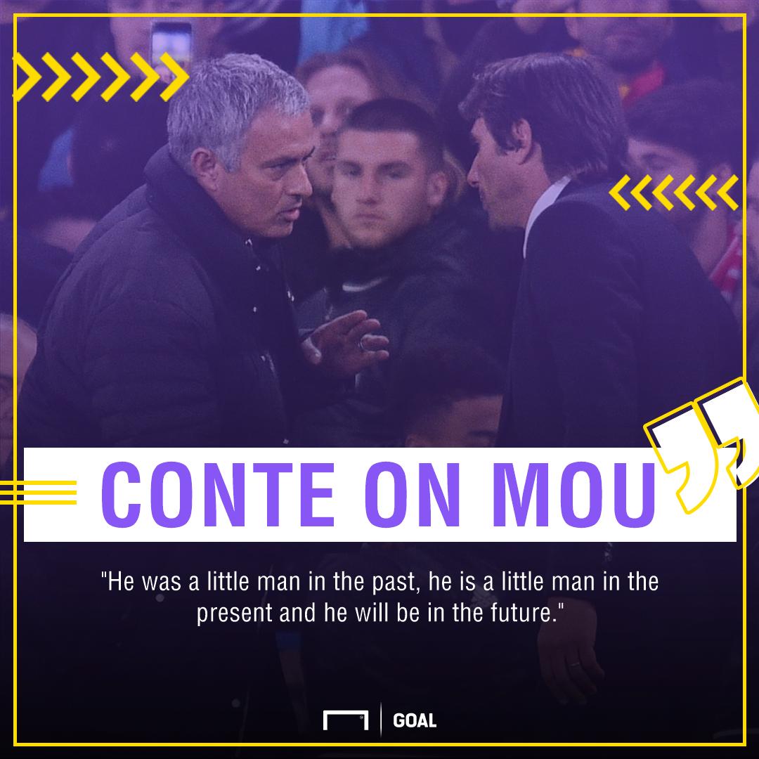 Conte on Mourinho