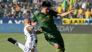 Marco Farfan Rafael Garcia Portland Timbers LA Galaxy