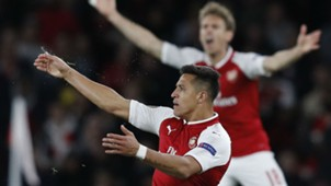 Alexis Sanchez Arsenal Europa League