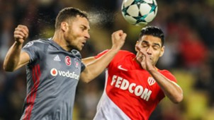 Radamel Falcao Monaco Besiktas UEFA Champions League 17102017
