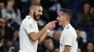 Karim Benzema Lucas Vazquez Real Madrid