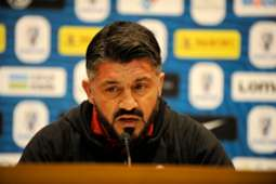 Gennaro Gattuso Juventus Milan press conference