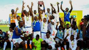 Nkana FC win Shield in Zambia.