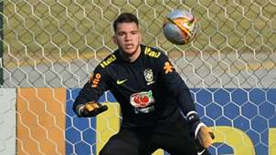 Ederson treino Seleção Brasil 03 10 2017