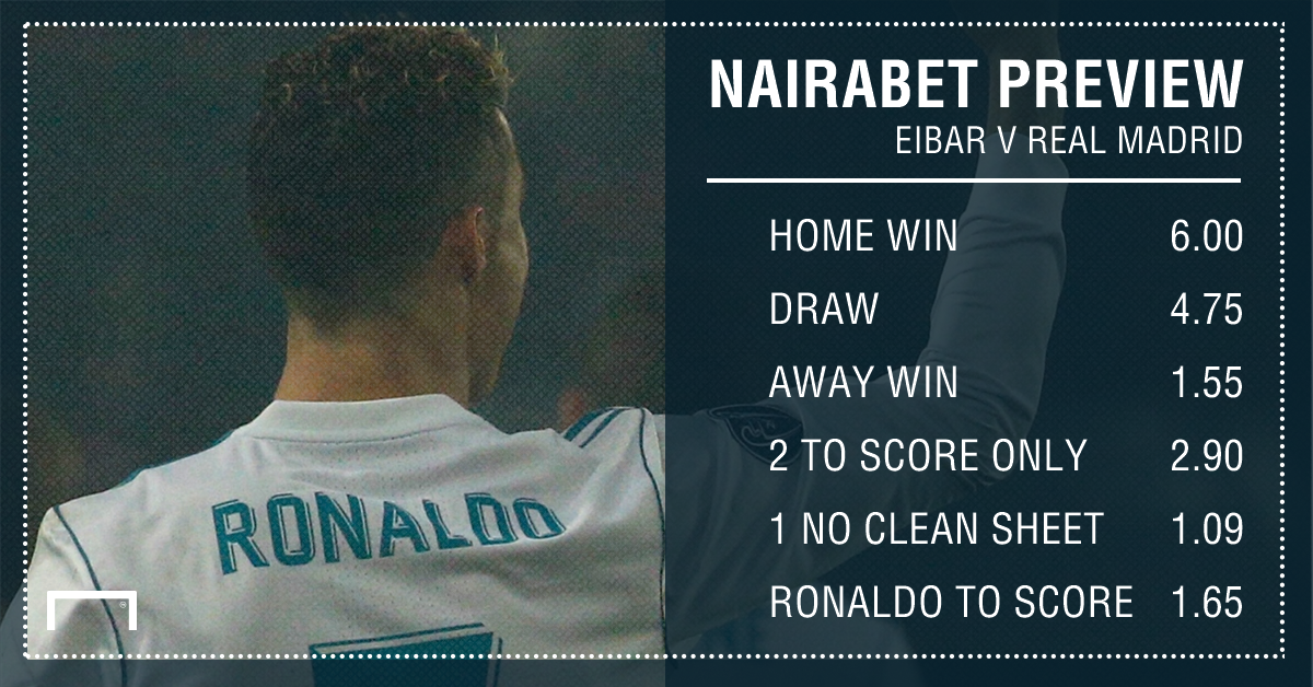 How to Watch Eibar vs. Real Madrid