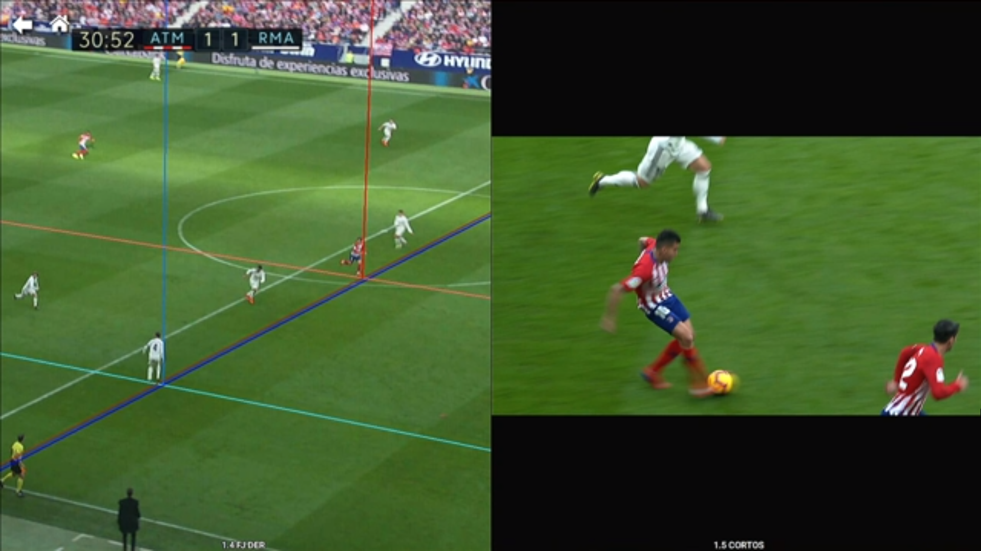 Atlético Real Madrid FDJ Griezmann