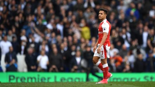 Alexis Sanchez Tottenham Arsenal